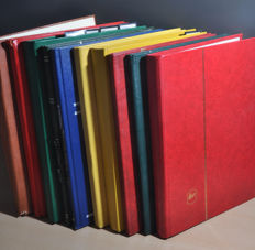 World - Batch in various stock books and album