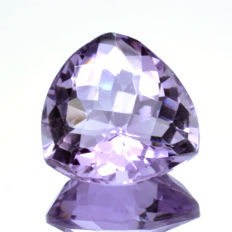 'Rose of France' Pink Amethyst  - 11.96 ct - No Reserve Price