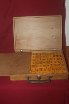 Mahjong bakelite game - China - 1930´s