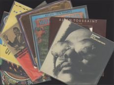 "Allan Toussaint New Orleans funk - lot of 8 albums incl. ""Life, love and faith"", ""Motion"", ""Southern Nights"" and productions for Jessie Hill, Ernie-K Doe and Dr. John"