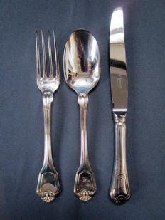 Christofle - cutlery - 'Port Royal' - 3 piece - unused / new