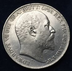 United Kingdom - Crown 1902, Edward VII -silver