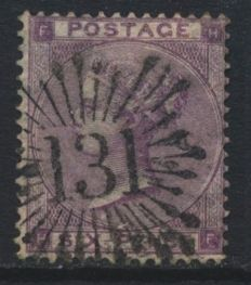 Great Britain 1841/1900's - Collection on stock cards and satchets