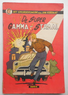 Jan Kordaat 2 - De super Gamma-straal - sc - 1e druk (1954)