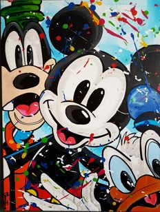 Moontje - Mickey and friends