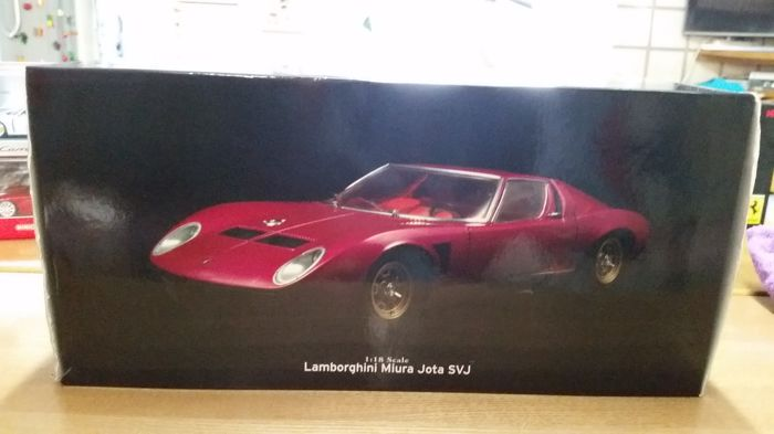 kyosho scale 1 18 lamborghini miura jota bordeaux catawiki. Black Bedroom Furniture Sets. Home Design Ideas