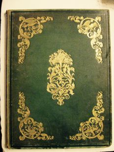 [Anon} - Book of the Boudoir in the Court of Queen Victoria - 1858?