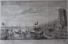Den Haag; J. June / Middleton - 2 copper engravings - ca. 1780