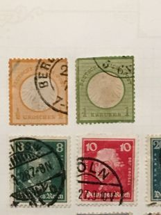 Germany FRG, Reich, States 1870/1990 - Batch in 2 stockbooks and on many pages