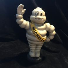 Bibendum moneybox in heavy cast-iron version 23 cm high