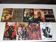 Various Action Comics (Terminator, Witchblade, etc.)  - 9x TPB/sc - 1st Edition - (2001/2011)