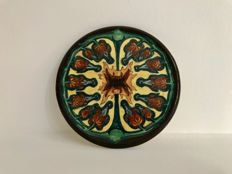 Wed. N.S.A. Brantjes & Co Purmerend - Polychrome earthenware coaster