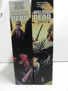 Walking Dead - 8x hc in verzamelcassette - (2010/2011)