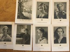 A set of  250 postcards mainly in black and white, especially from Belgium and France. 1914-1958.