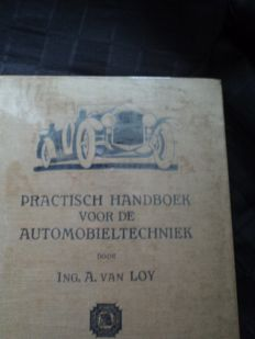 1 original Dutch handbook from 1930