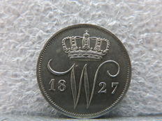 The Netherlands - 10 cents 1827U Willem I - silver