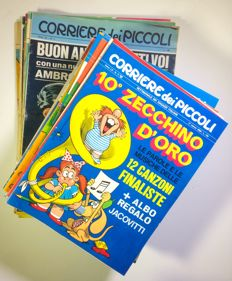 Corriere dei piccoli - A year's issues nos. 1/52 (1968)