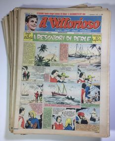 Il Vittorioso - a year's issues, from no. 1 to no. 53 (1950)