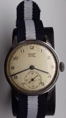 Tissot - Militar - Steel - 35mm - Heren - 1901-1949