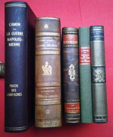 Napoléon – Octave Aubry and others - Lot with five works – 1903/1935