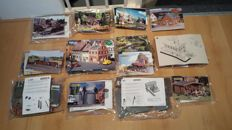 Faller/Noch/Pola H0 - lot with miscellaneous parts - various buildings