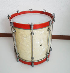 Large vintage Drum / Tambour 41cm cm high