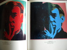 Andy Warhol, A Retrospective, 1989 + numbered lithograph limited edition