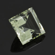 Green Amethyst (Prasiolite) - 6.26 ct - No Reserve Price
