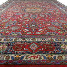 Signed Meshed - 360 x 247 cm - Iran