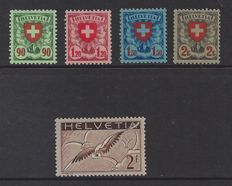 Switzerland 1924/1930 - Coat of Arms and Airmail - Michel 194x/197x + 245x