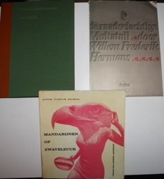Willem Frederik Hermans - Lot with 3 special books - 1969 / 2003