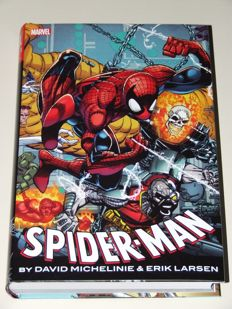 Spider-Man Omnibus HC By David Michelinie and Eric Larsen - Oversized Hardcover With Dust Jacket - 1st Print - (2017)