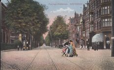 Amsterdam, streets, squares, canals, etc. early 1900