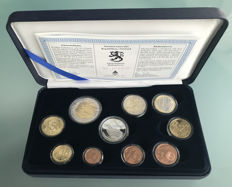 Finland - Year set 2005 + 5€ Commemorative Coin + Silver + Token in silver