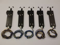 Märklin H0 - 74490 - Five switch drives for C-rail