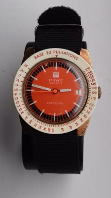Tissot - Visiodate Carrousel - Men - 1970-1979