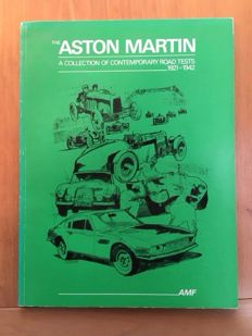 Aston Martin - Set of two books: Collection of Contemporary Road Tests 1921-1942 and 1948-1959 - Compiled by Adrian Feather
