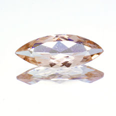 Morganite - 1.56 ct - No Reserve Price