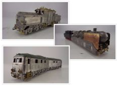 including Roco/Gunther/Marklin/Hamo H0 - three models made up of a base model with white metal parts and Gunther construction package