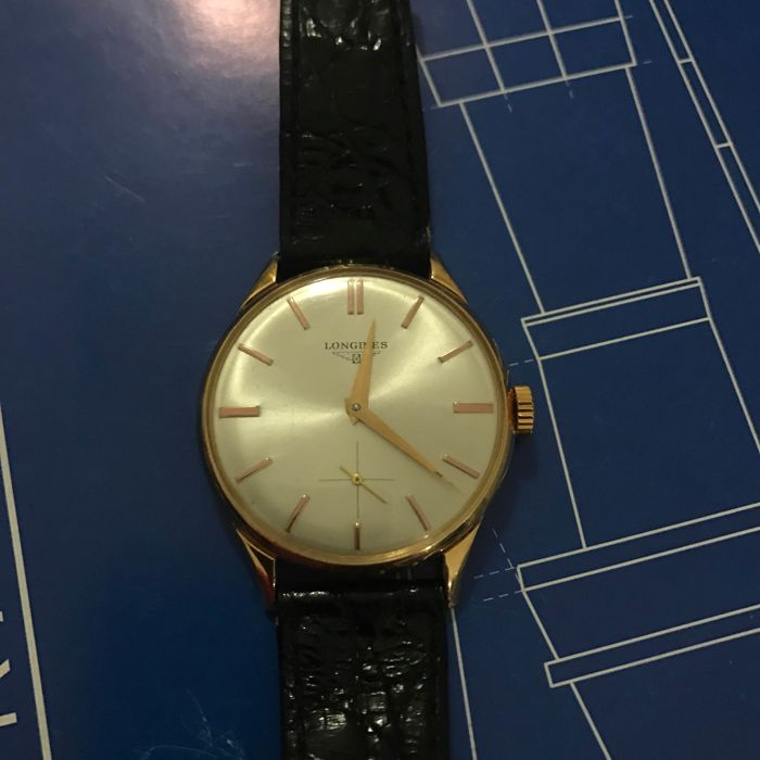 Longines, 18 kt gold, 1950s/60s