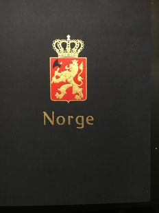 Norway - Collection in 1 Davo album and 1 large stockbook