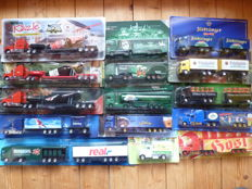 Various - scale 1/87 - lot with 70 models: - 70 x beer advertising trucks collection Germany