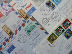 European countries - Flight covers, balloon mail and various