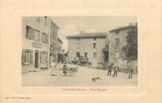 France -  Département 69 - Rhône - Lot with 60 old postcards
