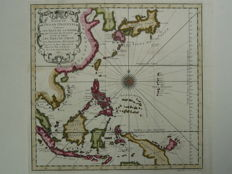 Indonesia, China, Japan; Nicolas Bellin - Suite de l'Ocean Oriental (...) - 1747