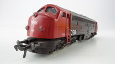 "Fleischmann H0 - 4273 - Diesel locomotive My 1144 ""Bolle neus"" of the Danish railways DSB"