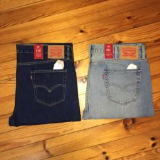 Levi's - 2 Pairs of Jeans - Brand New - Model 511 , 510