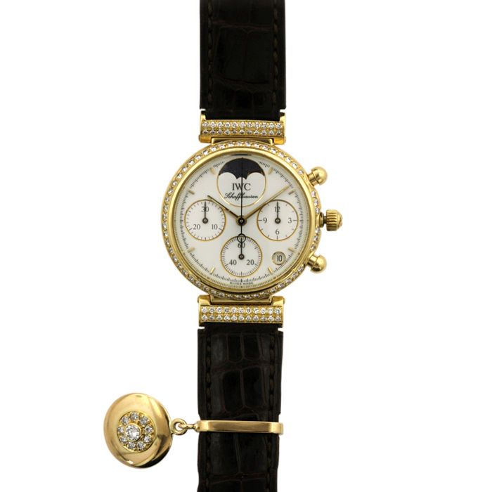 IWC - Lady da Vinci Moon phase Chronograph - 2407828 - Dames - 1980-1989