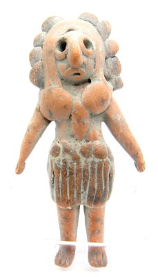 Indus Valley Terracotta Fertility Standing Male Idol  / Figurine  - 55 mm