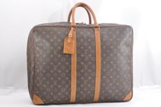 Louis Vuitton - Sirius 55 Monogram - Soft suitcase with  name tag and padlock with 1 key